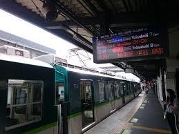 京阪本線の樟葉駅~橋本駅間で人身事故.