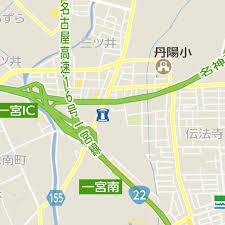 神高速道路の一宮IC(インターチェンジ)付近でトラック横転事故