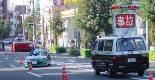 東京都品川区荏原の中原街道で事故