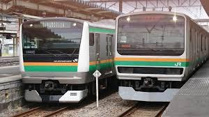 東海道線の品川駅~川崎駅間で電車のフロントガラスにリュックサックが投げつけられ破損す