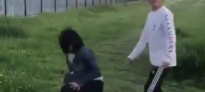 葛飾区で女の子いじめ暴行動画されたと思われる暴行動画が拡散