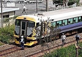 外房線の鎌取駅で人身事故