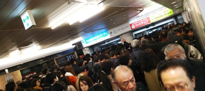 大阪メトロ御堂筋線が通勤ラッシュにトラブルが多発し大混雑