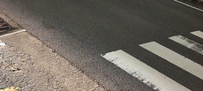 大阪府富田林市の国道170号で軽バンなどが衝突し横転する交通事故