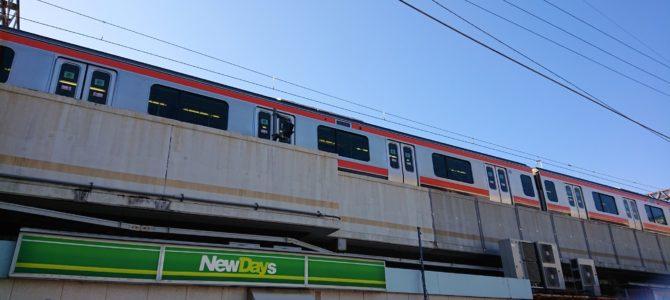 武蔵野線の南流山駅で人身事故