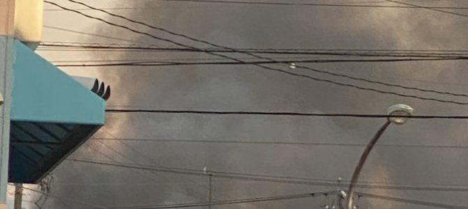 岐阜県笠松町の住宅で大規模な火事