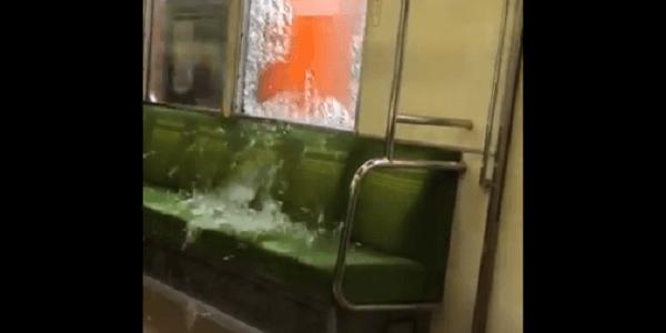 東上線のみずほ台駅~鶴瀬駅間で走行中の列車の窓ガラスが割れる!外から物を投げ込まれた投石事件