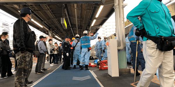 JR神戸線の垂水駅人身事故