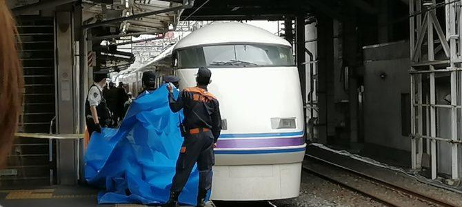 東武スカイツリーラインの西新井駅で人身事故