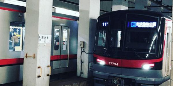 東京メトロ日比谷線の恵比寿駅で人身事故