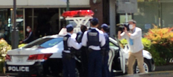 湘南新宿ラインの浦和駅で刃物男が暴れる事件
