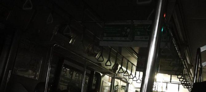 総武線の船橋駅で人身事故