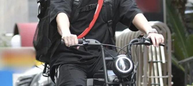 手越 自転車