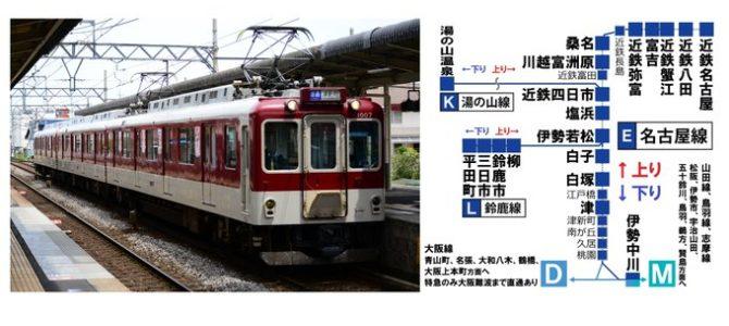近鉄名古屋線の伊勢若松駅で人身事故
