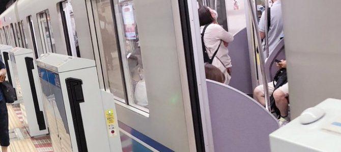 東京メトロ東西線の東陽町駅で人身事故