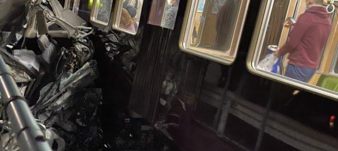 阪急神戸線の御影駅~六甲駅間で踏切事故