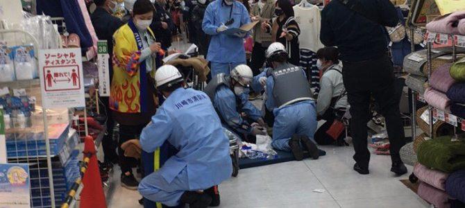 神奈川県川崎市幸区堀川町のラゾーナ川崎で殺人未遂事件
