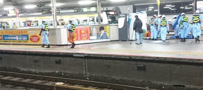 中央線の吉祥寺駅で人身事故