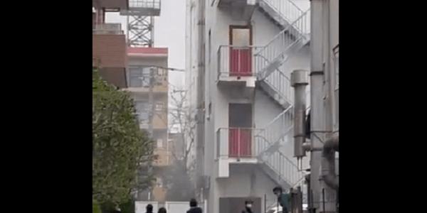 東京都大田区久が原の工場で爆発事故