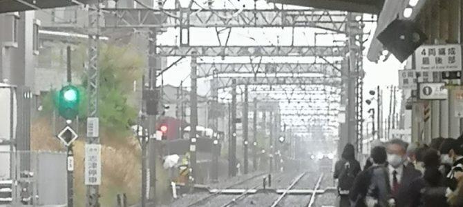 京成本線の実籾駅~勝田台駅間で人身事故