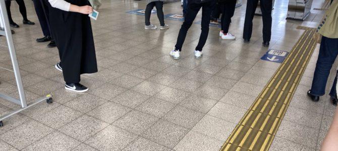 大和路線の志紀駅~八尾駅間で人身事故